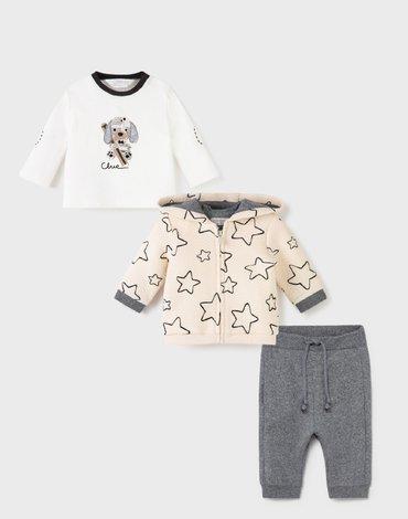 Mayoral - Dres 3 częściowy dla noworodka chłopca