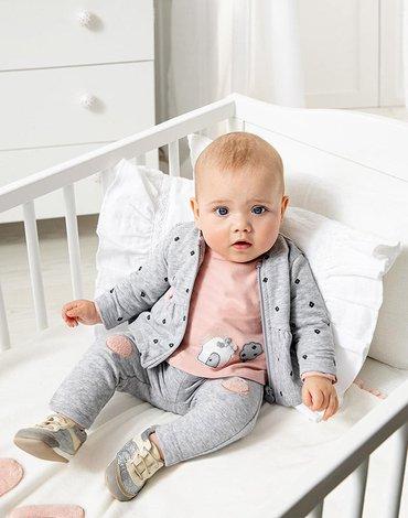 Mayoral - Dres ECOFRIENDS 3 częściowy dla noworodka dziewczynki