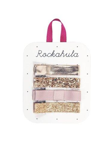 Rockahula Kids - 4 spinki do włosów Sparkle Bar