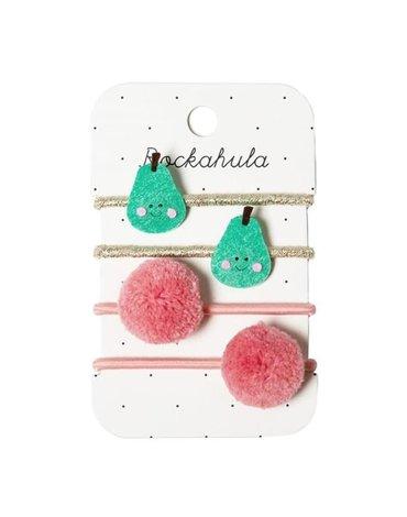 Rockahula Kids - 4 gumki do włosów Pick A Pear