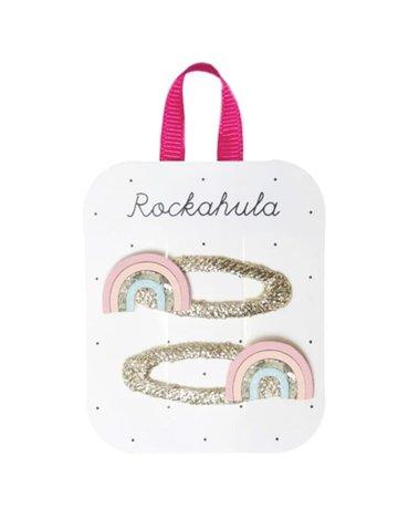 Rockahula Kids - 2 spinki do włosów Sorbet Rainbow