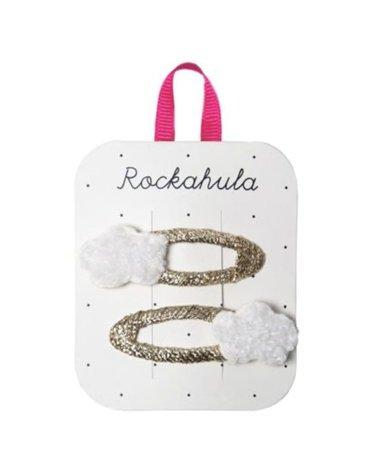Rockahula Kids - 2 spinki do włosów Little Fluffy Cloud