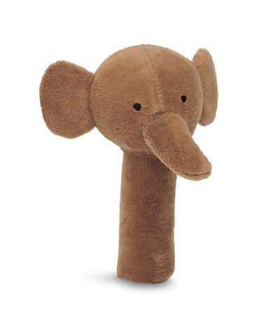 Jollein - Baby & Kids - Jollein - Grzechotka miękka Elephant CARAMEL