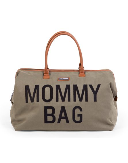 Childhome Torba Mommy bag Kanwas Khaki