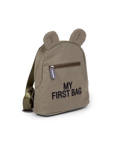Childhome Plecak dziecięcy My first bag Kanwas Khaki CHILDHOME