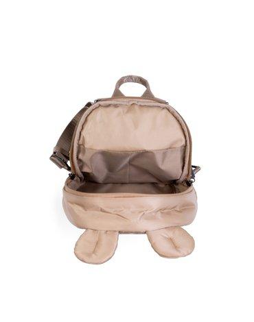 Childhome Plecak dziecięcy My first bag Pikowany Beżowy CHILDHOME