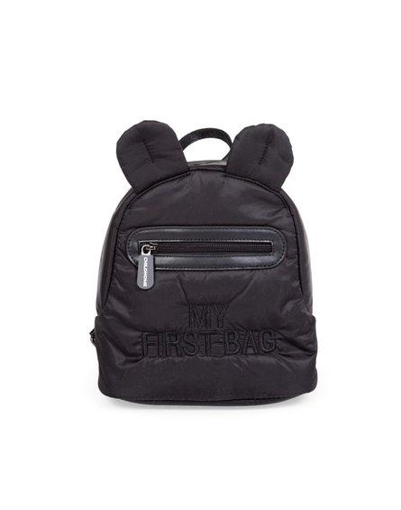 Childhome Plecak dziecięcy My first bag Pikowany Czarny