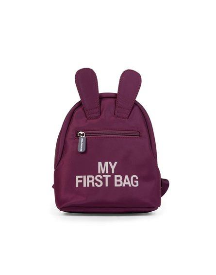 Childhome Plecak dziecięcy My first bag Aubergine