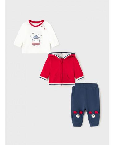 MAYORAL - Dres 3 częściowy ECOFRIENDS dla noworodka chłopca