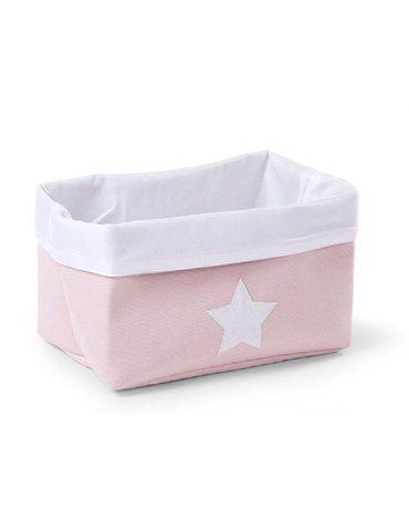 CHILDHOME - Pudełko płócienne 32 x 20 x 20 cm Soft Pink