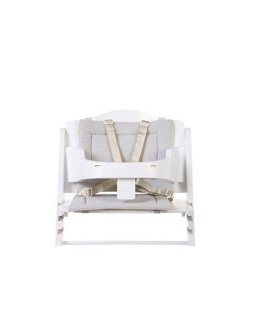 CHILDHOME - Ochraniacz do krzesełka Lambda Frotte Pastel Mouse Grey