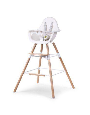 CHILDHOME - Podwyższenie do krzesełka Evolu 2 Natural/White