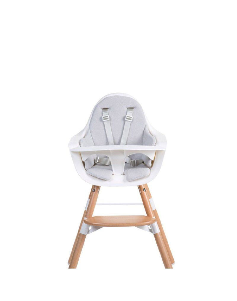 Ochraniacz Frotte do krzesełka Evolu 2 Mouse Grey CHILDHOME