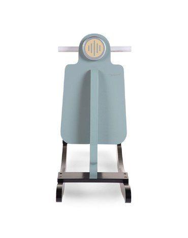 CHILDHOME - Bujak na biegunach skuter Mint Blue