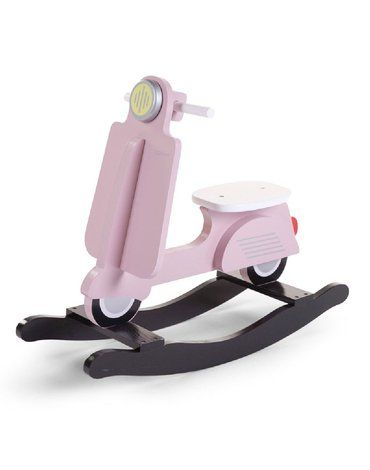 CHILDHOME - Bujak na biegunach skuter Pink