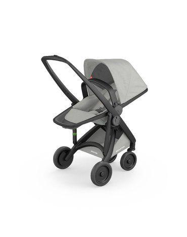 Wózek Greentom Reversible black - grey