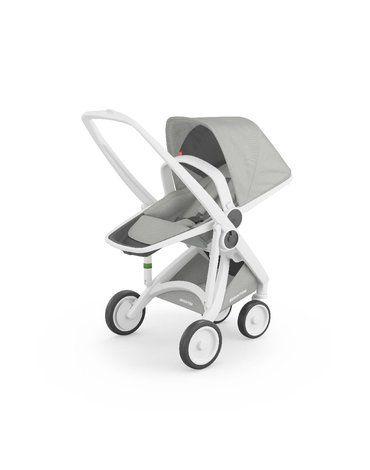Wózek Greentom Reversible white - grey