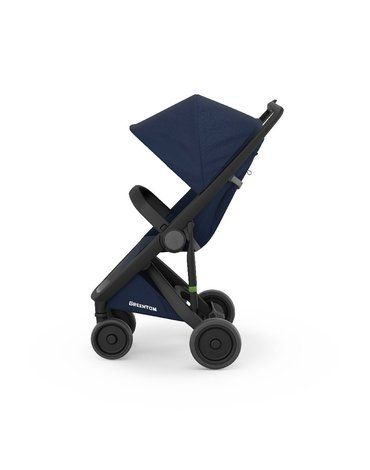 Wózek Greentom Classic black - blue