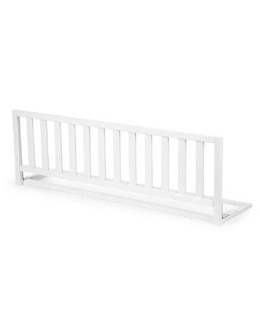 CHILDHOME - Drewniana barierka do łóżka 120 cm White