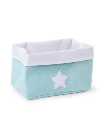 CHILDHOME - Pudełko płócienne 32 x 20 x 20 cm Mint