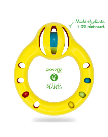 Bioserie TOYS - Bioserie Round Rattle