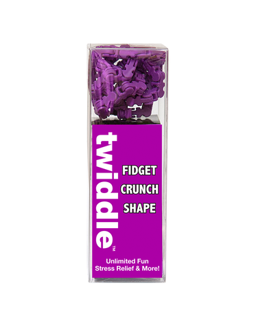 Fidget Twiddle Purple