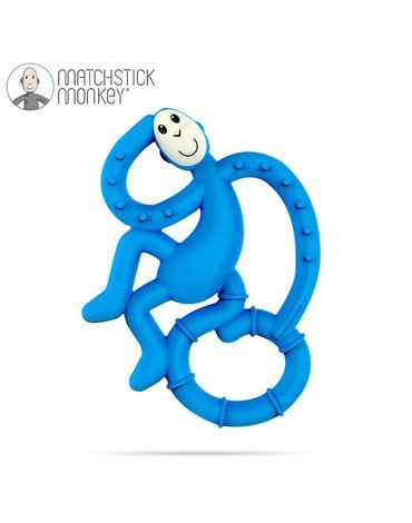 Matchstick Monkey - Matchstick Mini Monkey Blue Gryzak Masujący