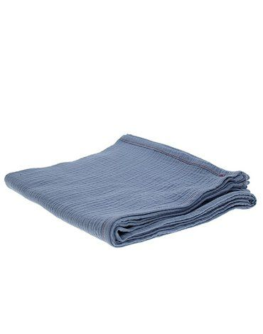 Hi Little One - Oddychający otulacz muślinowy 100 x 100 muslin swaddle Sky Blue