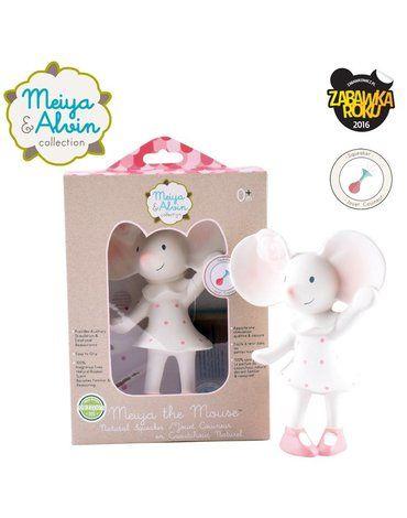 Meiya and Alvin - Meiya & Alvin - Meiya Mouse Organic Rubber Squeaker
