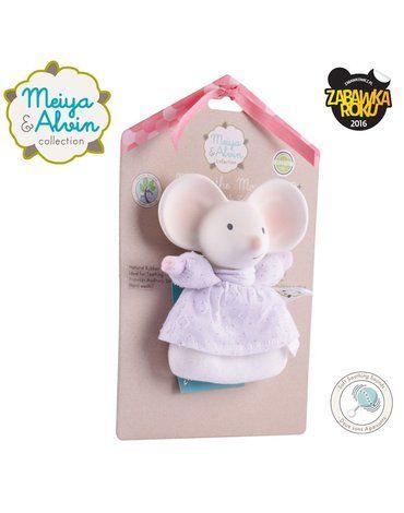 Meiya and Alvin - Meiya & Alvin - Meiya Mouse Soft Rattle with Organic Teether Head