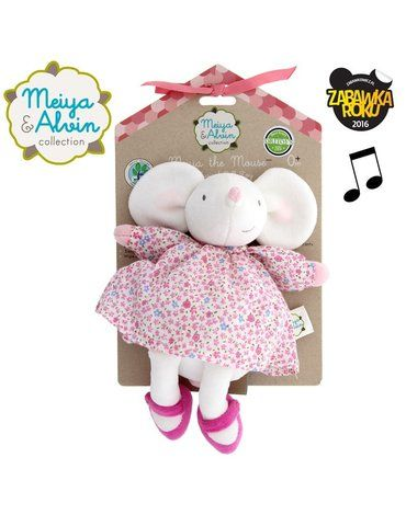 Meiya and Alvin - Meiya & Alvin - Meiya Mouse Musical Lulluby Doll with Soft Head