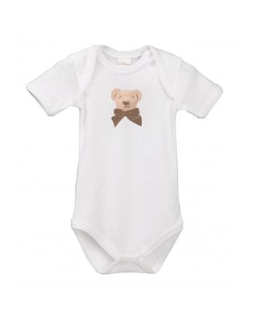 Lait Baby Organic Body Short Sleeve Cubby the Teddy