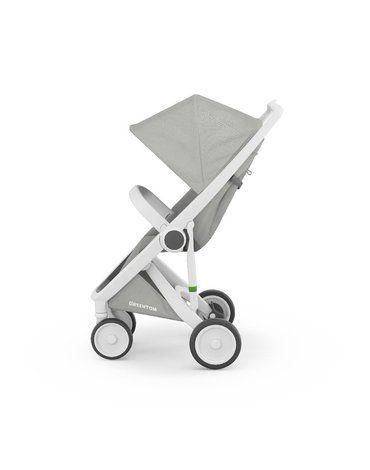 Wózek Greentom Classic white - grey