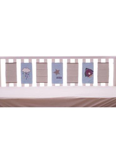 Bizzi Growin Far Away Universe Bumper sensoryczny ochraniacz do łóżeczka