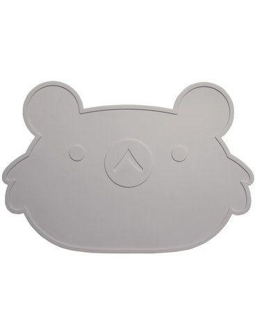 Petit Monkey - Silikonowa podkładka jedzeniowa Koala Szary