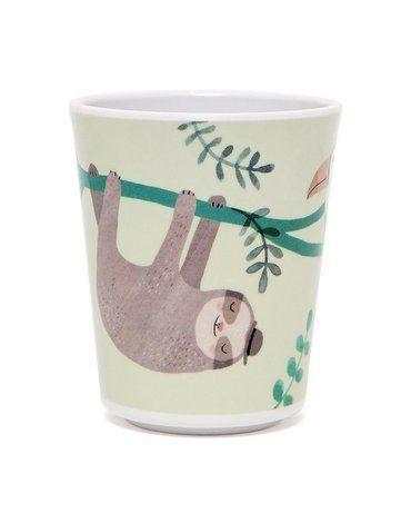 Petit Monkey - kubeczek z melaminy Leniwiec