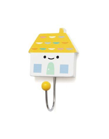 Petit Monkey - Wieszak Little House - mustard