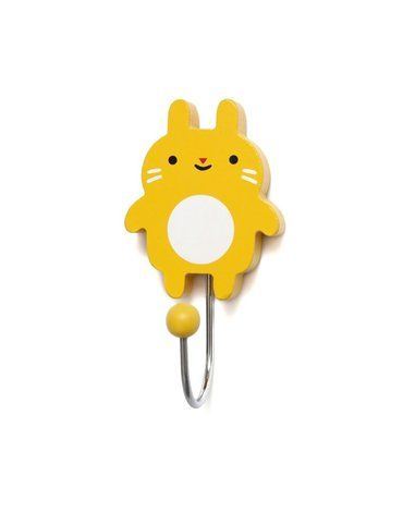 Petit Monkey -  Wieszak Little Bunny - mustard
