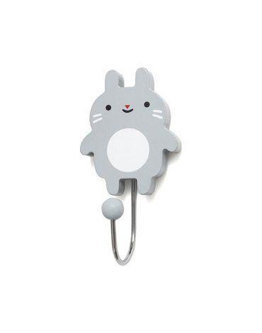 Petit Monkey -  Wieszak Little Bunny - grey