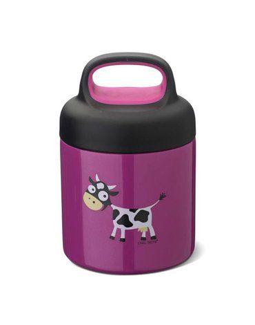 Carl Oscar TEMP Lunch Jar - Termos ze szlachetnej stali nierdzewnej Purple - Cow