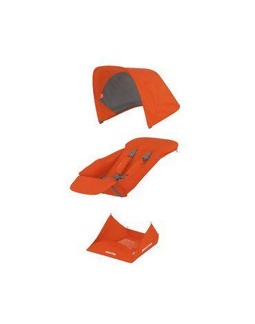 Greentom Reversible orange materiał