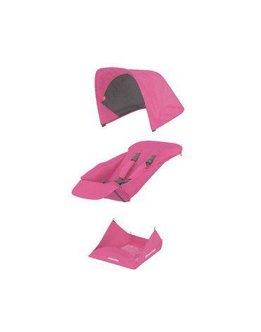 Greentom Reversible pink materiał
