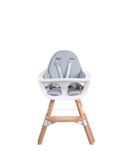 CHILDHOME - Ochraniacz neoprenowy do krzesełka Evolu 2 Light Grey
