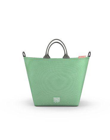 Greentom torba zakupowa do wózka miętowa
