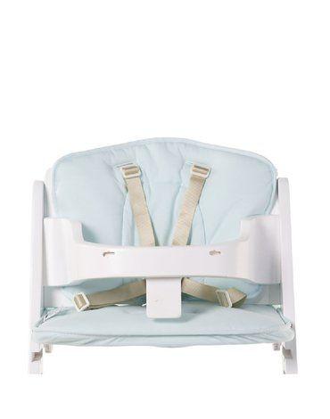 CHILDHOME - Ochraniacz do krzesełka Lambda Jersey Mint Blue