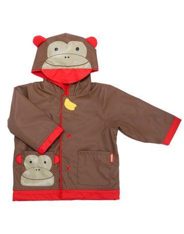 Skip Hop - Płaszcz przeciwdeszczowy Zoo Małpa S 1-2