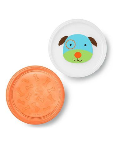 Skip Hop - Zestaw talerzy 2 szt. Zoo Pies