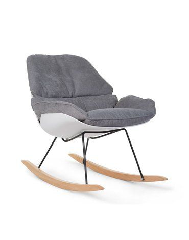 CHILDHOME - Fotel bujany Lounge White/Grey