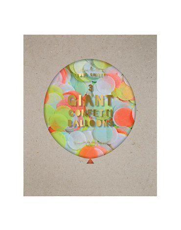 Meri Meri - Balony gigant Konfetti neonowe