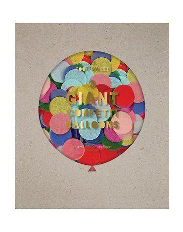 Meri Meri - Balony gigant Konfetti multikolor